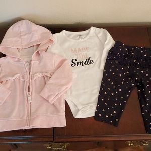 6 mo. Baby girl outfit